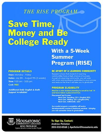 Save Time, Money and BE College Ready With Rise