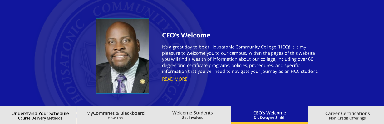 CEO Welcome