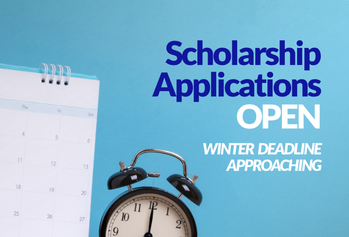 Scholarship Applications Open