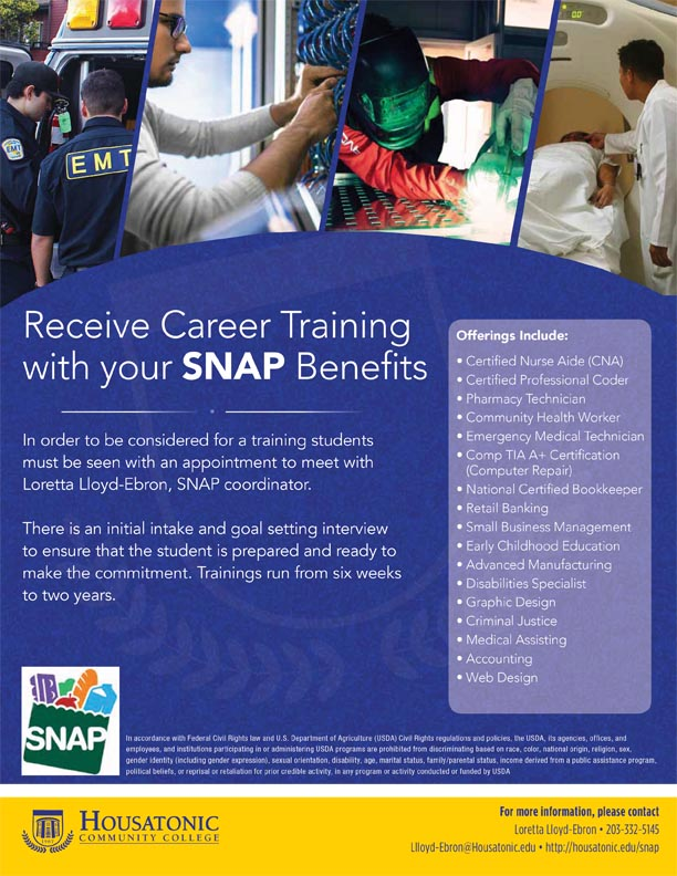 Click Here To Download The SNAP Flyer
