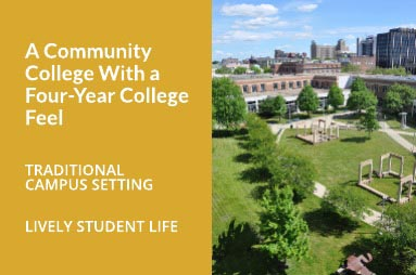 A Community College With A Four-Year College Feel